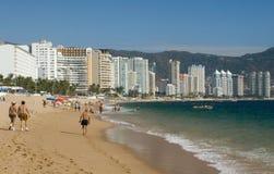 Plage d'Acapulco Image libre de droits