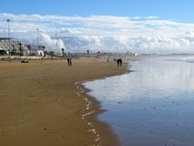 Plage d'Agadir Photographie stock