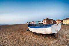 Plage d'Aldeburgh Photos libres de droits