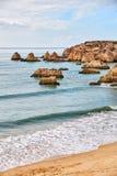 Plage d'Algarve Image stock