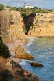Plage d'Algarve Photos libres de droits