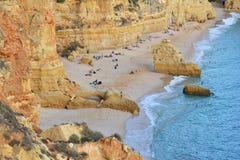 Plage d'Algarve Images stock