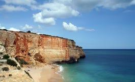 Plage d'Algarve image libre de droits