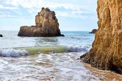 Plage d'Algarve, Portugal Image stock