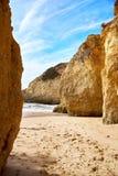 Plage d'Algarve, Portugal Photographie stock
