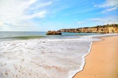 Plage d'Algarve, Portugal Photos libres de droits