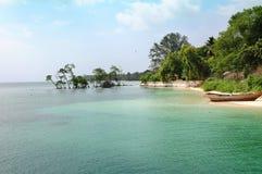 Plage d'Andaman Photos libres de droits