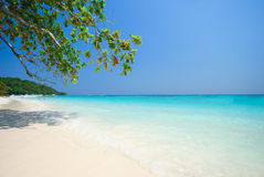 Plage d'Andaman Image stock