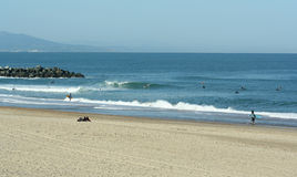 plage d'anglet Image stock