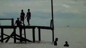 Plage d'Angsana Photo libre de droits