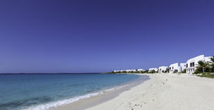 Plage d'Anguilla Images stock