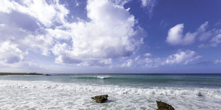 Plage d'Anguilla Photo libre de droits