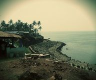 Plage d'Anjuna Photo stock