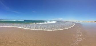 plage d'Anna Bay de panorama Photographie stock