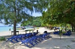 Plage d'ao Loh Moo Dee à l'île de Phi Phi Photos libres de droits