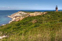 Plage d'Aquinnah, Martha's Vineyard Image stock