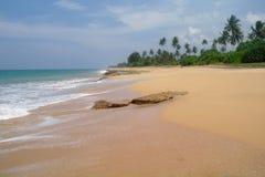 Plage d'Hawaï Kona Le Sri Lanka Image libre de droits
