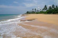 Plage d'Hawaï Kona Le Sri Lanka Photo stock