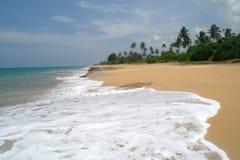 Plage d'Hawaï Kona Le Sri Lanka Photo libre de droits