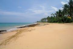 Plage d'Hawaï Kona Le Sri Lanka Photos stock