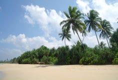 Plage d'Hawaï Kona Le Sri Lanka Images stock