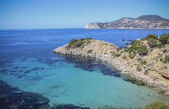 Plage d'Ibiza Images stock