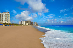 Plage d'Island de chanteur au Palm Beach la Floride USA Photos stock