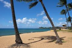 Plage d'Oahu photo libre de droits