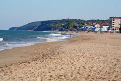 Plage d'Obzor Photo stock