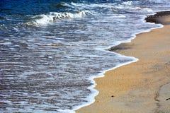 Plage d'octobre de Japonais/plage de Fukuok Ikinomathubara Image libre de droits