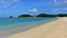 Plage d'Okuma dans l'Okinawa Images libres de droits