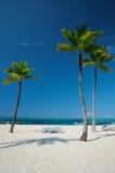 Plage d'origine de Bahama Photos stock
