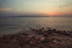 Plage Dalmatie, Croatie Image stock