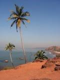 Plage dans Goa photo libre de droits