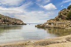 Plage dans Ibiza Photo libre de droits