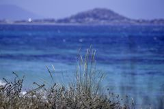 Plage dans les naxos photo stock