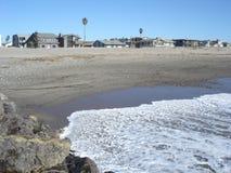 Plage dans Oxnard, CA Images libres de droits