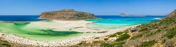 Plage de baie de Balos - Crète, Grèce Images libres de droits