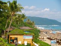 Plage de baie de Yalong à l'île de Hainan photo libre de droits