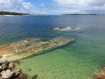 Plage de baie de Yarra Photographie stock libre de droits