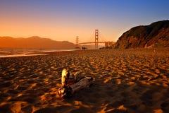 Plage de Baker, San Francisco images libres de droits