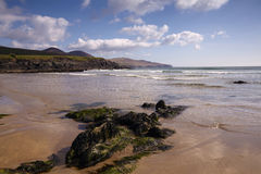 Plage de Ballinskelligs Photo stock