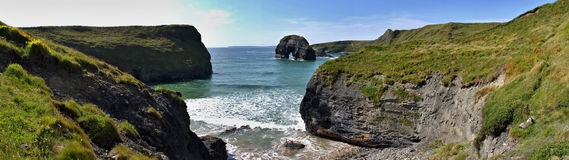 Plage de Ballybunion Photographie stock