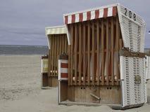 Plage de Baltrum Image libre de droits