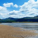 Plage de Barmouth Photo libre de droits