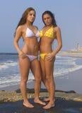 Plage de bikini Photographie stock libre de droits