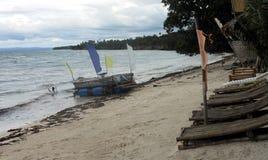 Plage de Bohol philippines Image libre de droits
