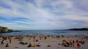 Plage de Bondi photo stock