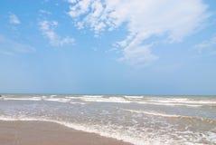 Plage de bord de la mer Photo libre de droits