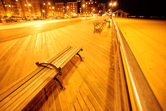 Plage de Brighton d'île de lapin Photos stock